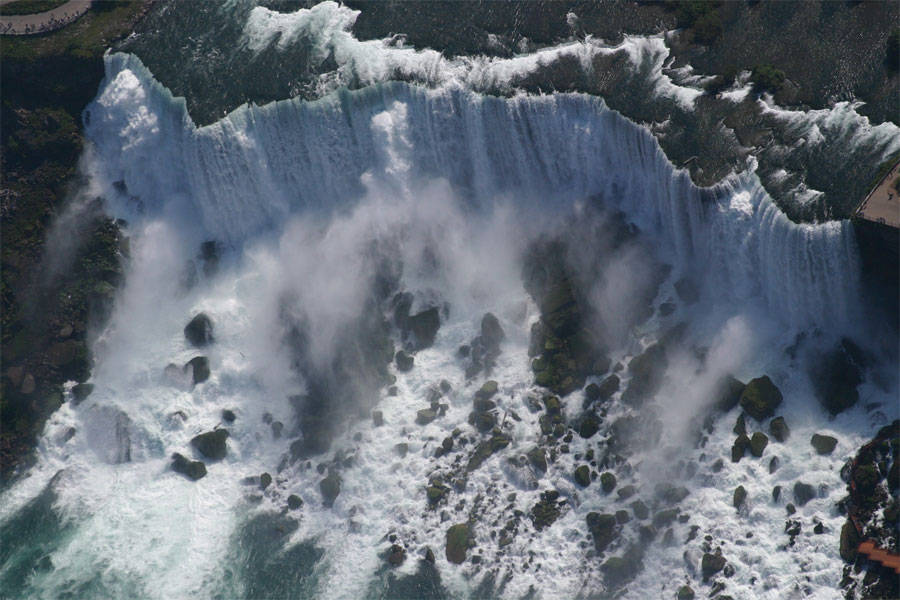 Aerial Photo of Niagara Falls (American Falls)