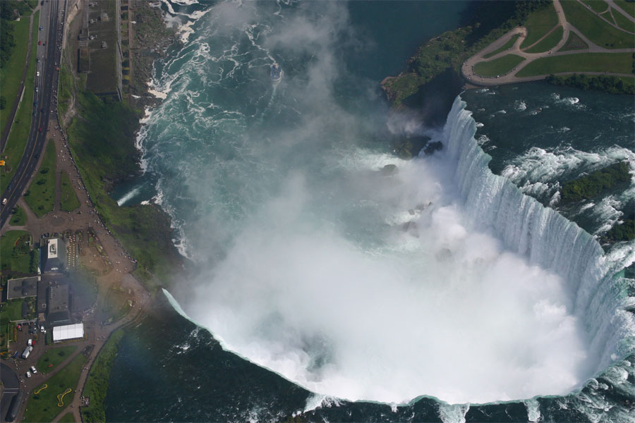 Aerial Photo of Niagara Falls (Horseshoe Falls)